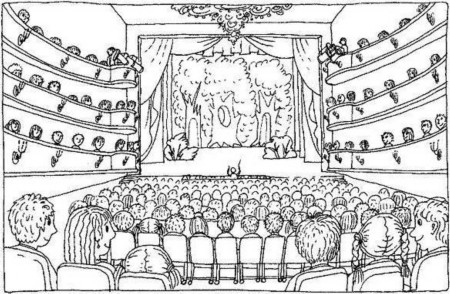 Рисунки на тему опера